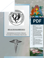 Grenada Empowerment Movement Health Manifesto 2018