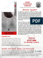 Fu-Go Exhibt Fundraising Flyer
