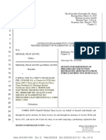 KingCast Mortgage Movies Michael Dean Levitz v. MERS and Capital One Preliminary Injunction CH 11 Adversary 18-01000-CMA-13