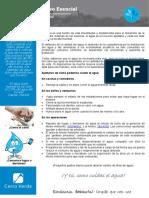 2018_Charla Semanal N° 06 El Agua - Un Recurso Esencial
