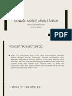 Kendali Motor Arus Searah