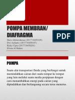 Pompa Membran Fix