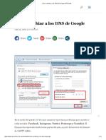 Cómo Cambiar a Los DNS de Google _ PROVEA