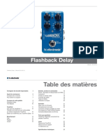 Tc Electronic Flashback Delay Manual French