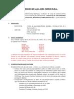 Certificado de Estabilidad Estructural Misericordia