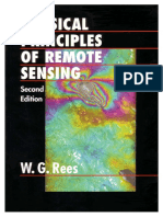 Physical Principles of Remote Sensing by W G REES 2001