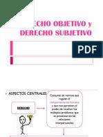 Derecho Subjetivo y Objetivo1