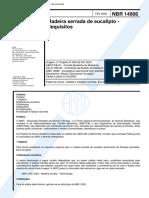 NBR 14806 - Madeira Serrada de Eucalipto - Requisitos.pdf