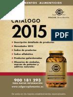Catalogo Solgar 2015 WEB