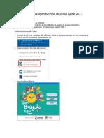 Instructivo Reproducción Brújula 2017