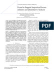 Evolving a wizard to support inspection process through quantitative and qualitative analysis