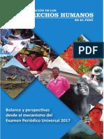 Publicacion Situación Ddhh en Perú to Upr Feb2018