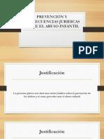 Prevención y Consecuencias Juridicas Sobre El Abuso Infantil
