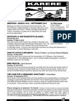February 2010 Centeral Aucland, Royal Forest and Bird Protecton Society Newsletter