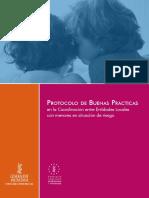 Protocolo de Buenas Prácticas en La Cooordinación Entre Entidades Locales Con Menores en Situación de Riesgo