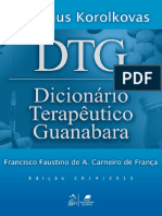 DTG - Dicionário Terapêutico Guanabara 21ª Ed