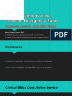 ethical dilemmas in the pediatric emergency room lgg
