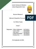 informe recursos