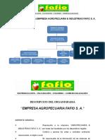 Organigrama y Principales Funcionarios 2012