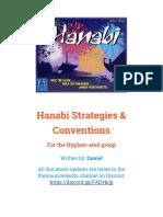 Hanabi Strategies & Conventions