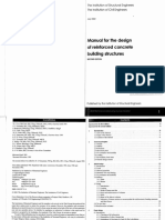 IStructE Manual for the Design of Reinforced Concrete Building Structures (Birtish Code)