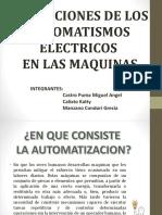 Aplicaciones de Los Automatismos Electricos en Las Máquinas