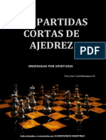 120 Partidas Cortas de Ajedrez - Gumersindo Martínez
