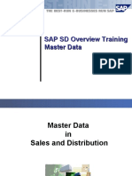 6493248 SAP R3 SD Overview Master Data