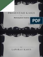 Presentasi KAsus MDS