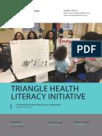 Triangle Health Literacy Initiative Program Overview