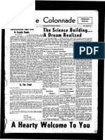 The Colonnade, October 11, 1954