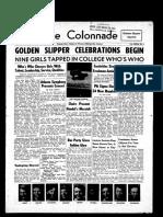 The Colonnade, November 18, 1955