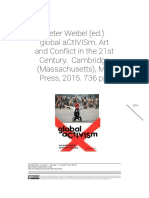 Peter Weibel (ed.) global aCtIVISm. Art and Conflict in the 21st Century.