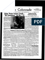 The Colonnade, November 2, 1957