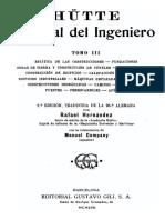 Manual Del Ingeniero Hutte-Tomo III