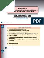 Presentación PPT - Resumen Del Reglamento de Invierte.pe