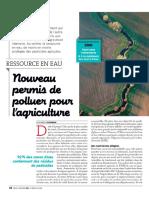 Permis de Polluer Pour l Agriculture Environement Fnsea Biodiversité Eau