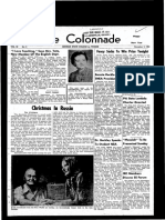 The Colonnade, November 19, 1960