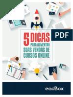 5 Dicas para aumentar suas vendas de cursos online.pdf