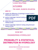 Probability and Statistical Distribution