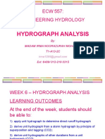 Hydrograph Analysis