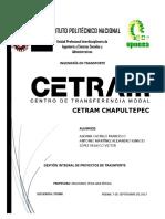 Proyecto Cetram Chapultepec