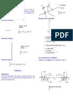 Cap 9_cónicas Circunferencia - Parábola_teoría