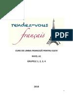 Suport Curs Franceza Grupele 1234