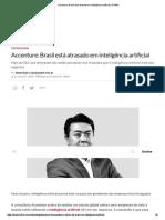 Accenture_ Brasil Está Atrasado Em Inteligência Artificial _ EXAME