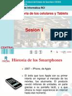 Sesión 1 Historia de Celulares y Tablets