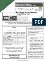 s03 p Analista de Sistema de Saneamento Engenharia Civil