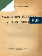 San Juan Bosco Y Sus Obras