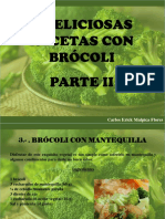 Carlos Erick Malpica Flores - 4 deliciosas recetas con brócoli, Parte II