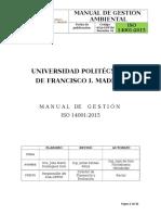 Manual Sga Upfim Iso 14001 2015